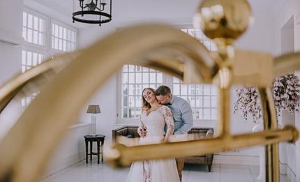 reportaż ślubny Ewy i Jakuba, Pałac Romantyczny w Turznie
