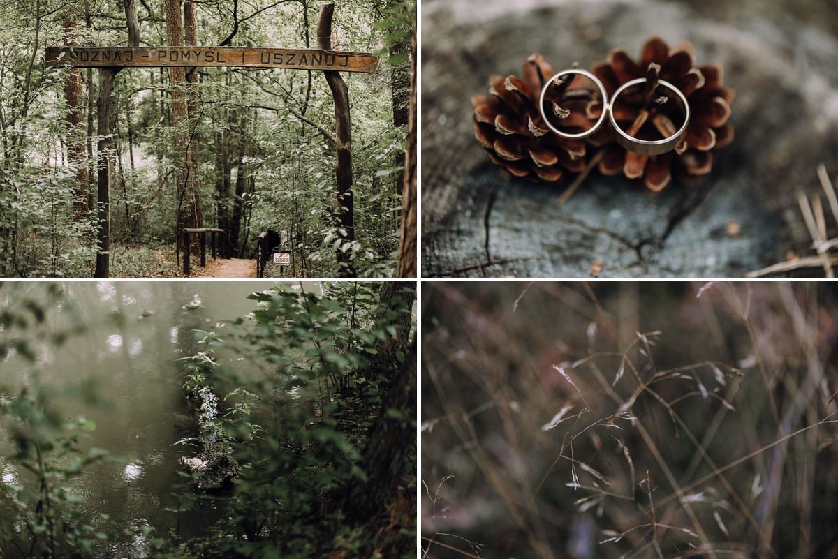 lesny-plener-slubny-Bory-Tucholskie-swiece-dymne-Paulina-Pawel-001